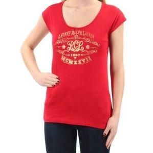 Ralph Lauren scoop neck t shirt